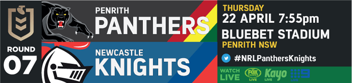 R7 Penrith Panthers v Newcastle Knights