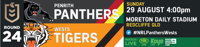 R24 Penrith Panthers v Wests Tigers