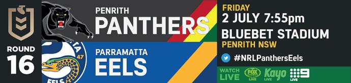 R16 Penrith Panthers v Parramatta Eels