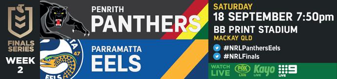 SF Penrith Panthers v Parramatta Eels