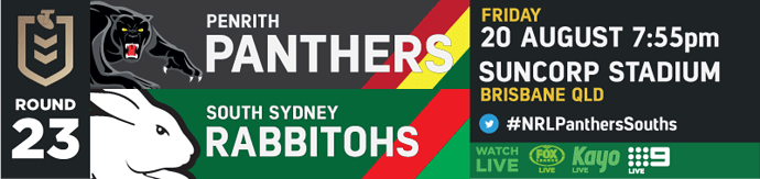 R23 Penrith Panthers v South Sydney Rabbitohs