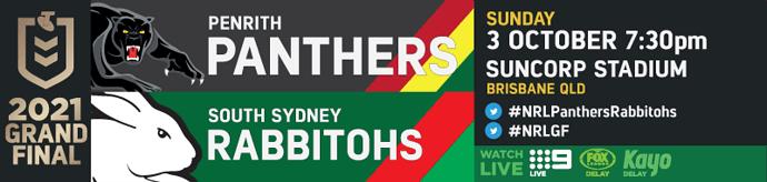 GF Penrith Panthers v South Sydney Rabbitohs
