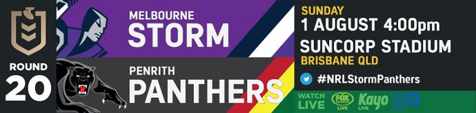 R20 Melbourne Storm v Penrith Panthers